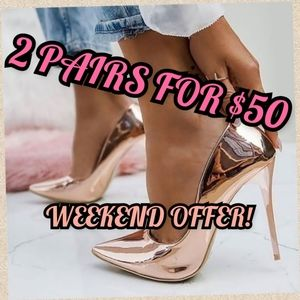 2 × $50 BUNDLE OFFER ONLY FOR THIS WEEKEND